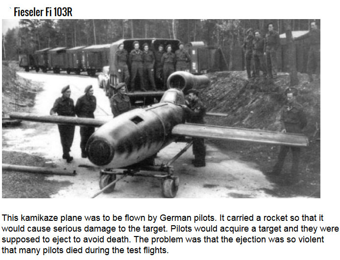 Insane Ideas For Nazi Weapons Of Destruction