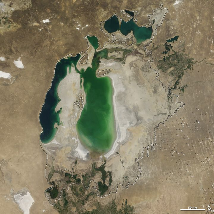 The Aral Sea Is Changing