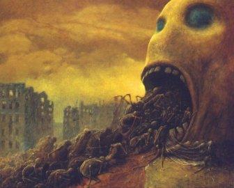 Zdzislaw Beksinski's Visions Of Hell