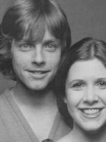 Luke Skywalker And Princess Leia Reunite