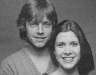 Luke Skywalker And Princess Leia Reunite
