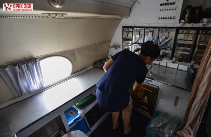 A Flight On A North Korean Airplane