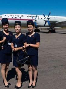 A Flight On A North Korean Airplane