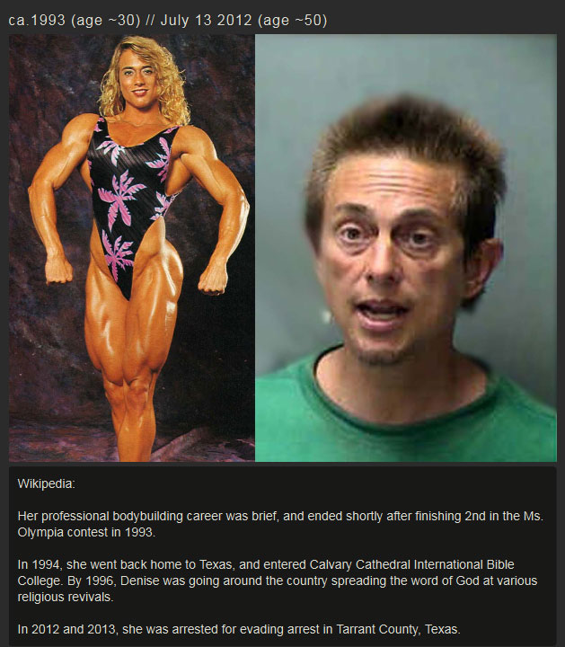 This Is What 20 Years Of Steroid Abuse Does To A Woman