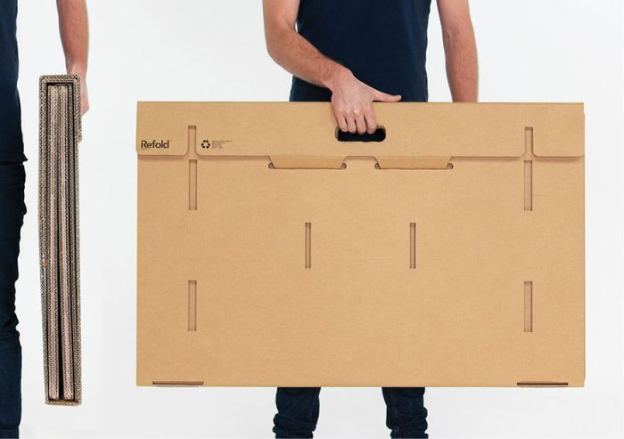 The Cardboard Desk You Can Take Anywhere