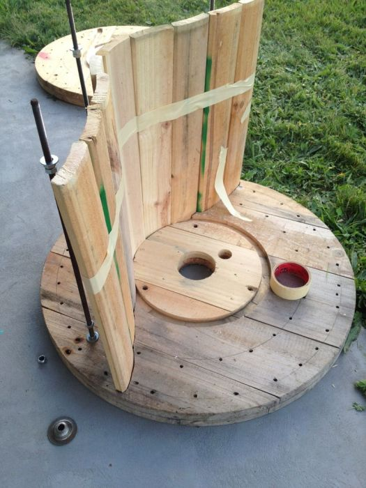 The Ultimate Cable Reel Chair