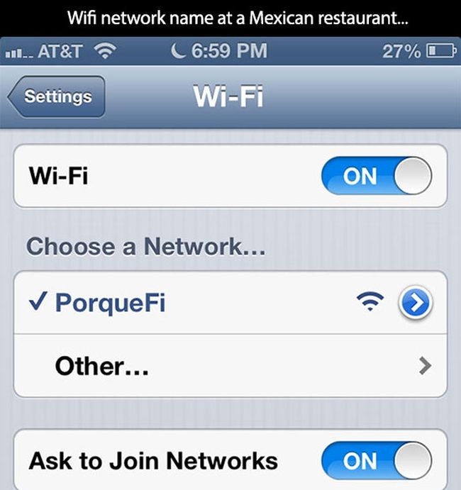 The Things People Will Do For WiFi Access