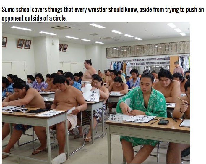 This Is What it Takes To Become A Sumo Wrestler