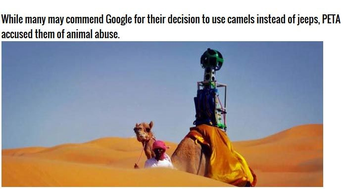 Cars Aren't The Only Thing That Google Uses For Google Maps