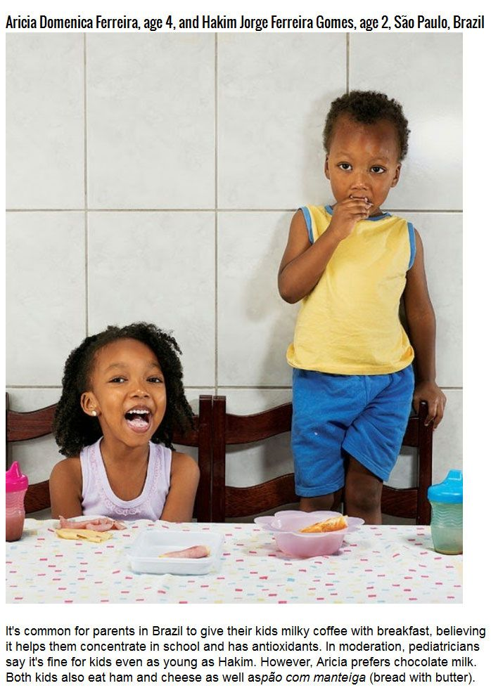 Kids' Breakfasts From All Around The World