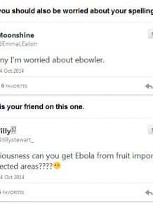 Ebola Is Making Our Population Dumber