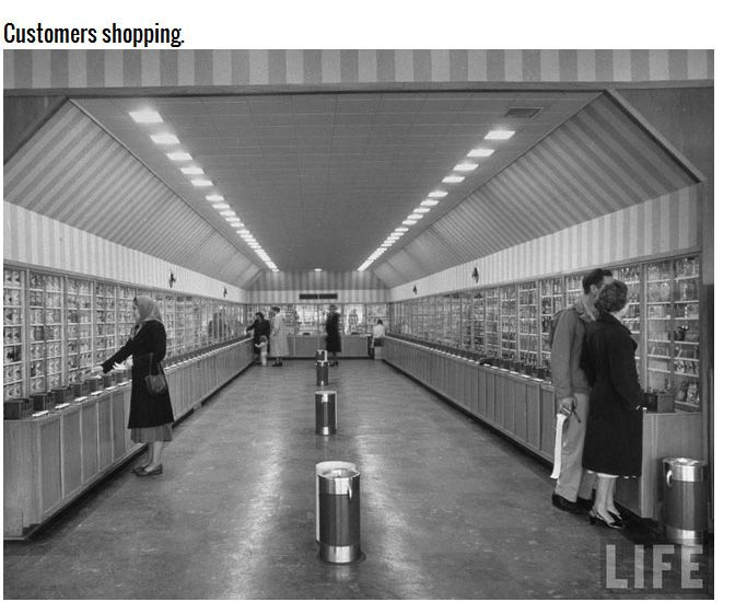 Giant Vending Machine From 1948, part 1948