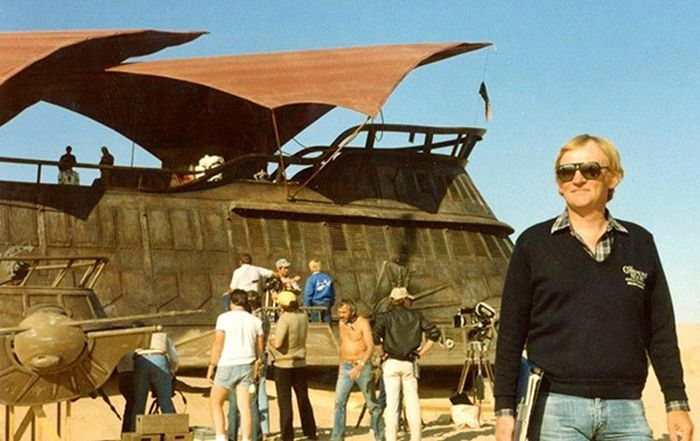 Rare Behind The Scenes Photos From Return Of The Jedi