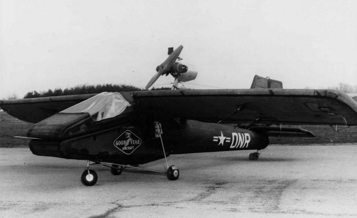 The Goodyear Inflatable Plane