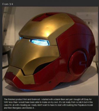 How To Build Your Own Iron Man Helmet