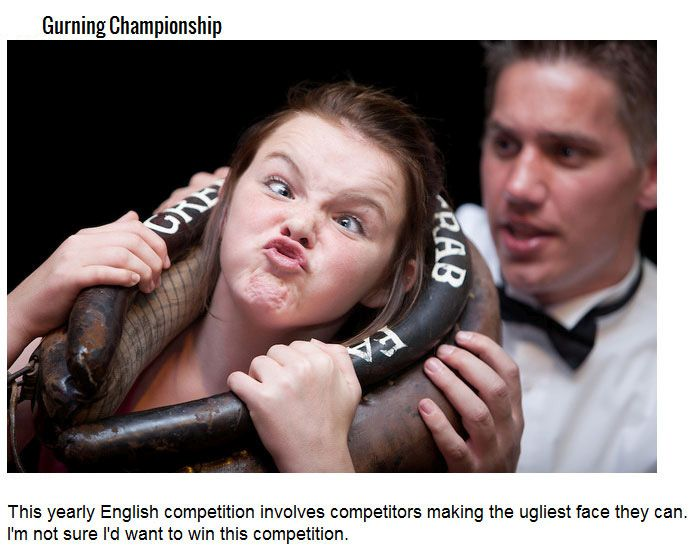 Strange Competitions You Won't Believe Really Exist