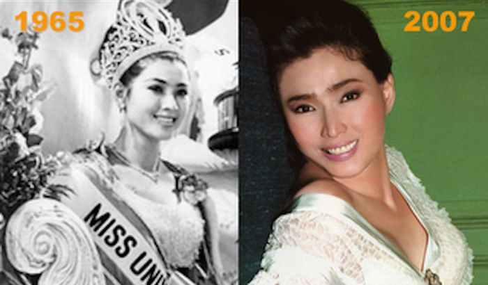 Thailand's Miss Universe Looks The Same As She Did 50 Years Ago