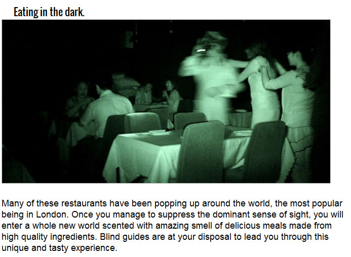 The Most Unique Dining Experiences In The World