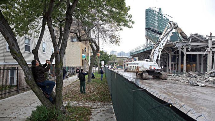 Wrigley Field Is Getting Torn Apart And Put Back Together
