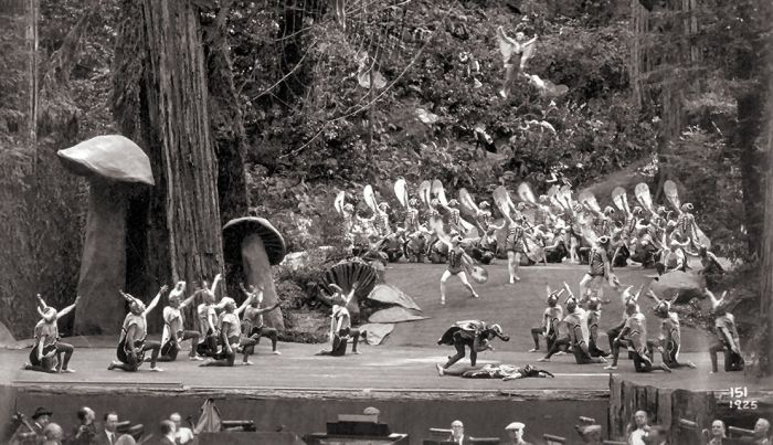 Candid Photos From The Bohemian Grove Meeting