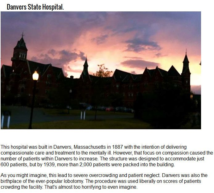 5 Abandoned Asylums That Have Terrifying Stories Behind Them