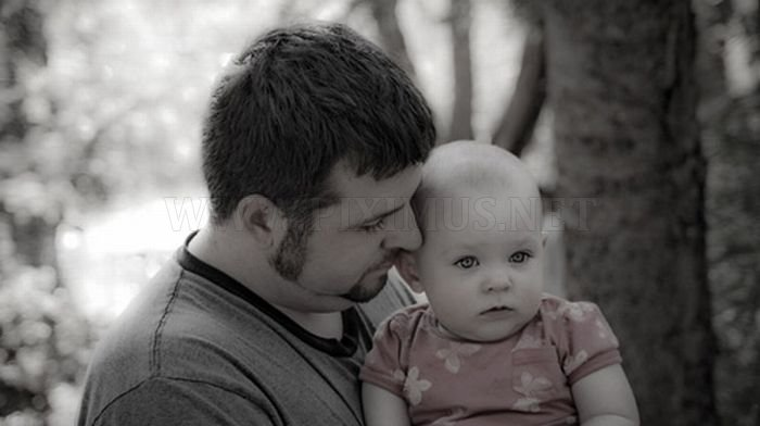 Precious Moments of Father and Child