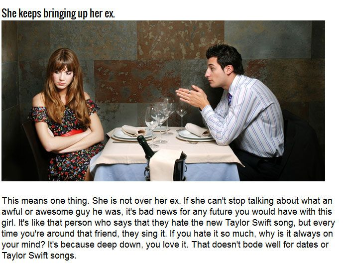 Six Signs That Your Date Has Become A Disaster