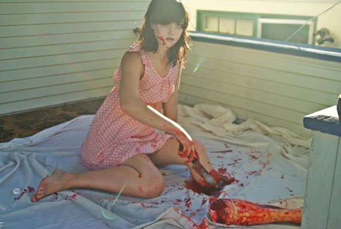 This Girl's Halloween Photo Shoot Is One Of A Kind