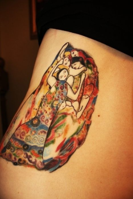 Mind Blowing Tattoos Inspired By Real Art