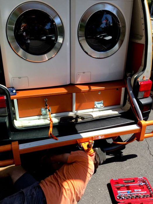 Orange Sky Laundry Mobile Laundry Service