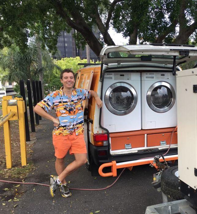 Orange Sky Laundry Mobile Laundry Service