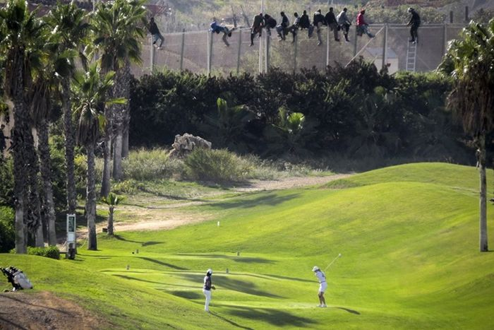 Escaping Morocco For Melilla