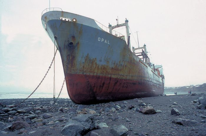 Haunting Pictures Of Abandoned Ships