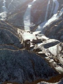 A Close Look At North Korea's Impressive Ski Resort