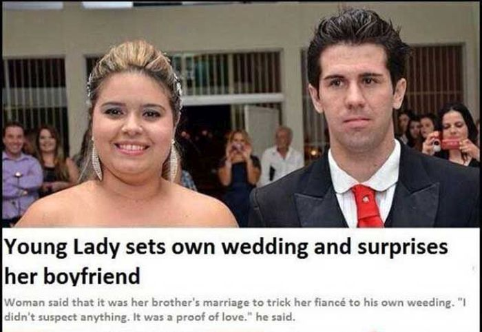 Man Gets Tricked Into Getting Married