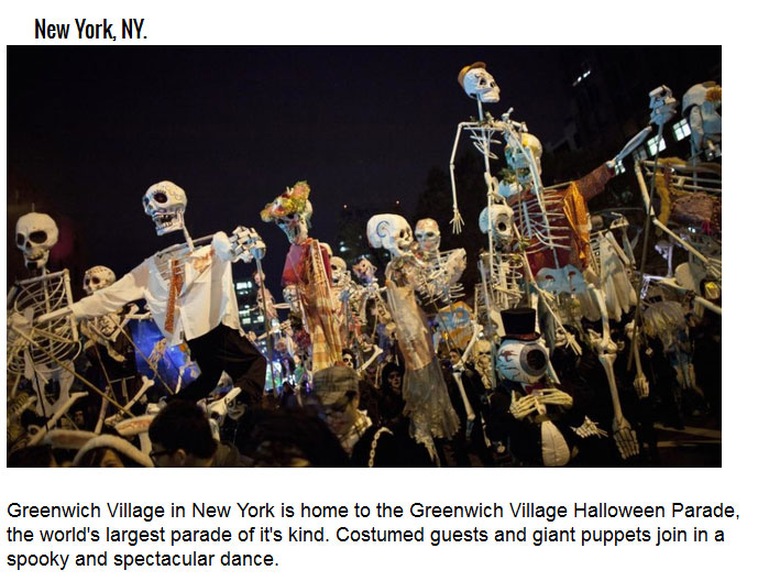 The Coolest Cities To Visit For Halloween Festivities