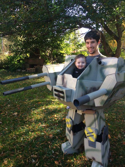 MechWarrior Halloween Costume
