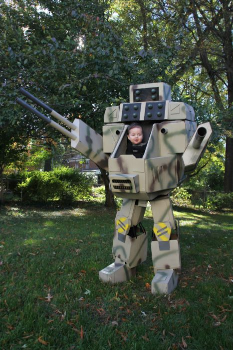 MechWarrior Halloween Costume