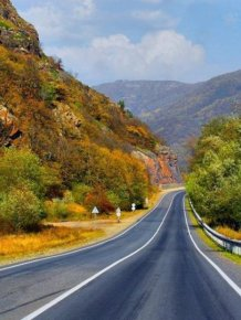 Beautiful Russian roads
