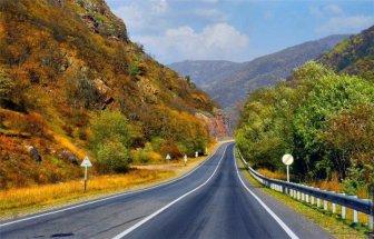 Beautiful Russian roads