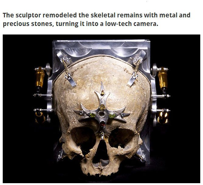 This Human Skull Is Now A Camera