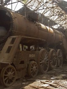 This Hungarian Train Graveyard Is Where Trains Go To Die
