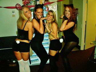 Sexy girls from Halloween