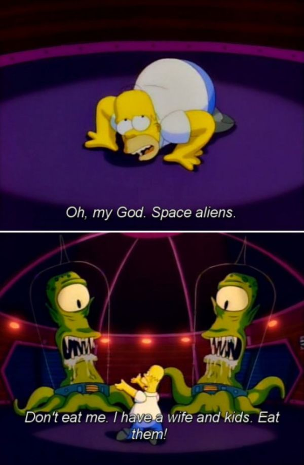 Classic Moments From The Simpsons 'Treehouse of Horror'