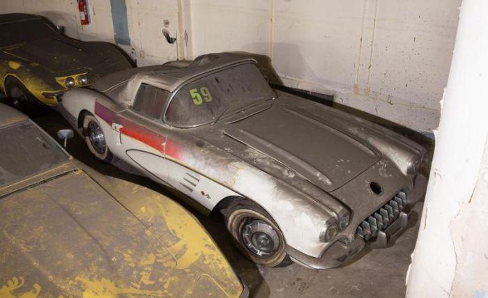 Garage Full of Corvettes