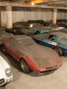Garage Full of Corvettes