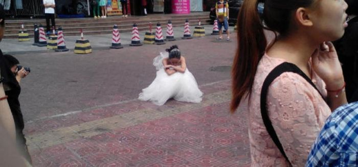This Wedding Photo Shoot Didn't End Well