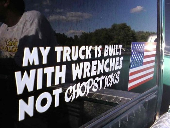 The World's Most Ridiculous Bumper Stickers