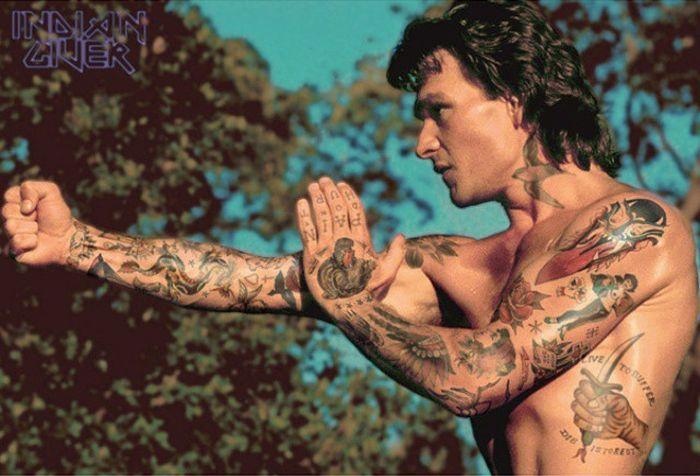 Celebrities Get Tattoos Photoshopped Onto Their Bodies