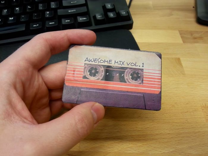 Guy Passes Out Guardians Of The Galaxy Mix Tape For Halloween